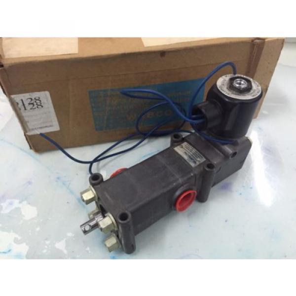 REXROTH  PD400031-1400 1/2#034;  Pilotir 3 port Solenoid Valve 1/2 in, 120 v AC #3 image