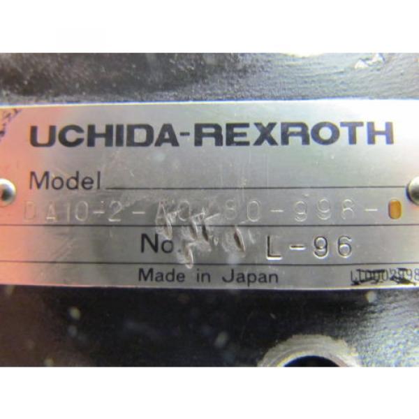 UCHIDA-Rexroth DA10-2-A0/80-998-0 Hydraulic pressure valve #9 image