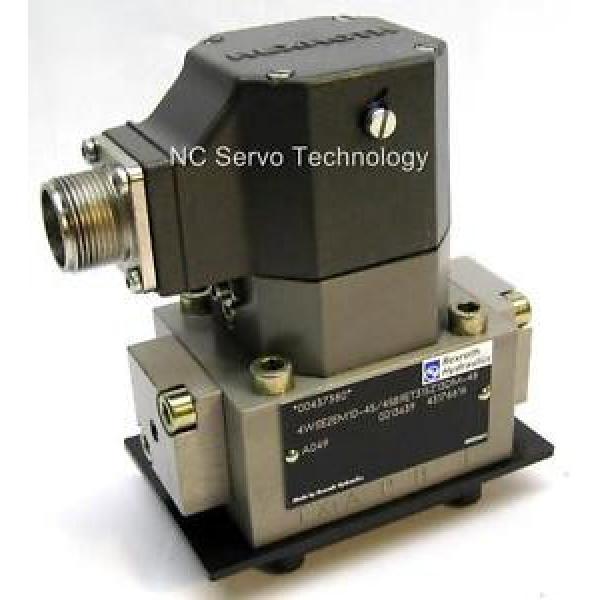 Rexroth 4WS2EM10-45/45B9ET315Z13DM-48 Servo Valve origin w/12 Month Warranty #1 image