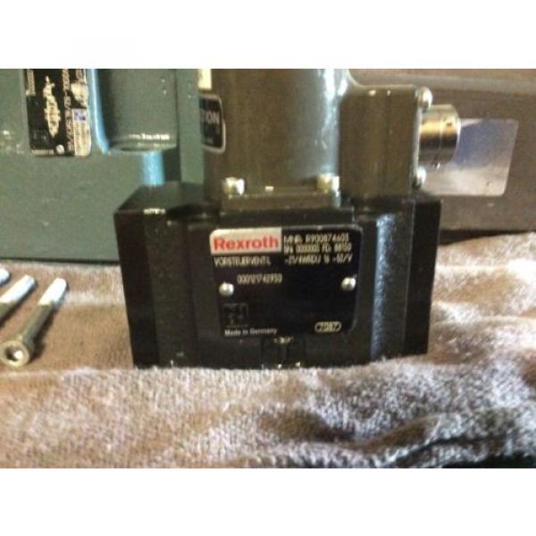 Rexroth Hydraulics servo valve, # 4WRDU 16 W200L-52/6L15K9/VR, free shipping #2 image