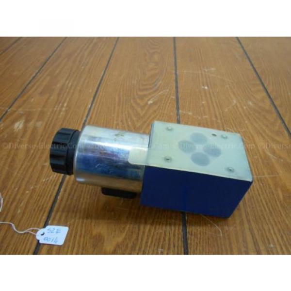 Bosch Rexroth R900738495 4WE 6 D28-62/EG24K4 SO293 Valve w/ R900221884 Solenoid #4 image