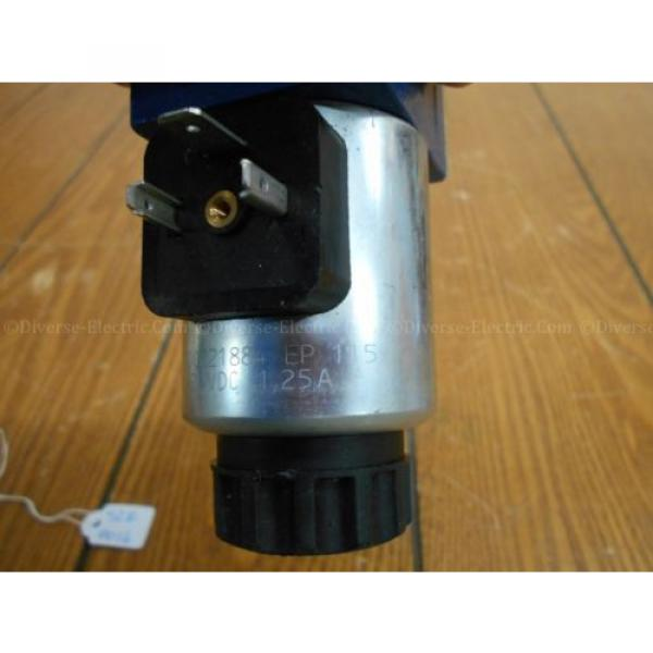 Bosch Rexroth R900738495 4WE 6 D28-62/EG24K4 SO293 Valve w/ R900221884 Solenoid #7 image