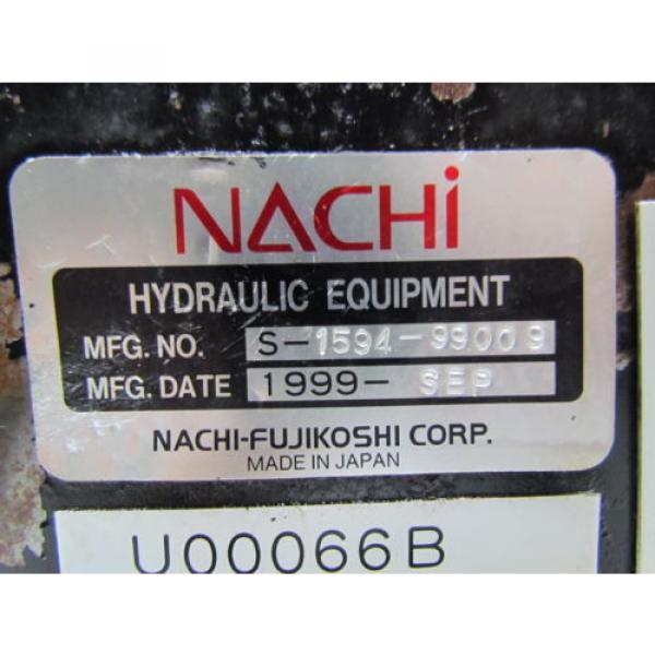Nachi Fujikoshi 5-1594-99009 13L Hydraulic Pump Unit 200-220 3Ph #7 image