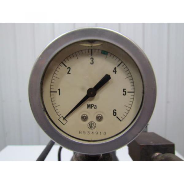 Nachi Fujikoshi 5-1594-99009 13L Hydraulic Pump Unit 200-220 3Ph #8 image