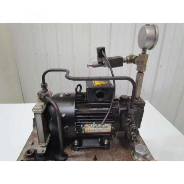 Nachi Fujikoshi 5-1594-99009 13L Hydraulic Pump Unit 200-220 3Ph #12 image