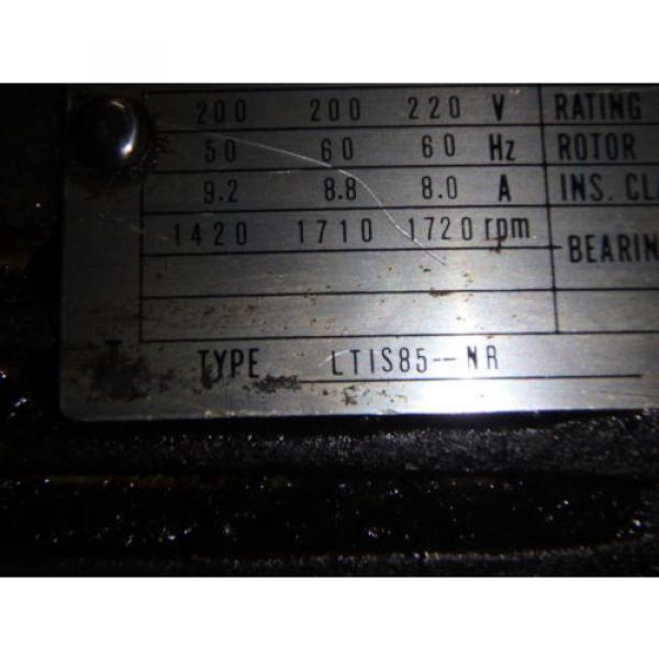 Nachi Variable Vane Pump Motor_VDR-1B-1A3-1146A_LTIS85-NR_UVD-1A-A3-22-4-1140A #7 image