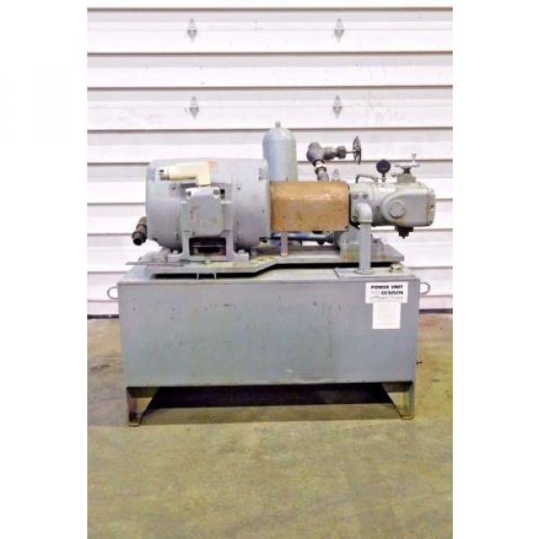 RX-3094, DENISON HYDROILICS 100HP POWER UNIT / PACK 5000 MAX PSI 1200 MAX RPM #1 image