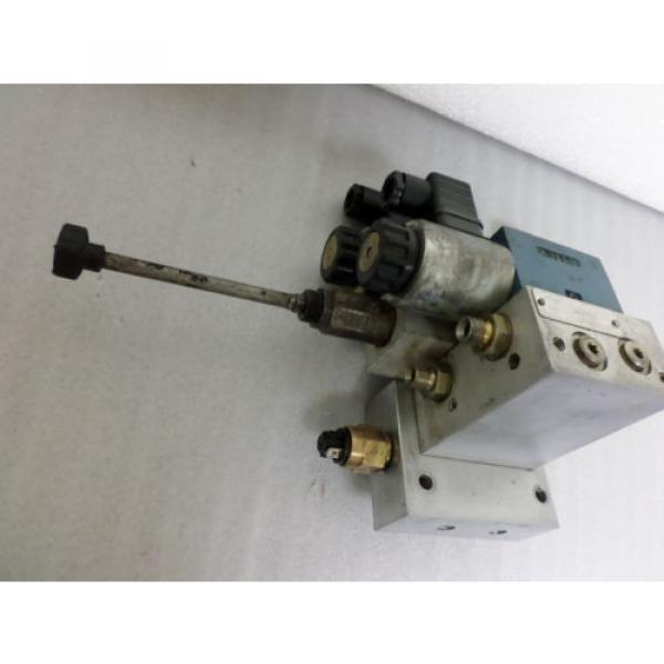 Rexroth Mannesmann Hydraulic Servo  Valve #9 image