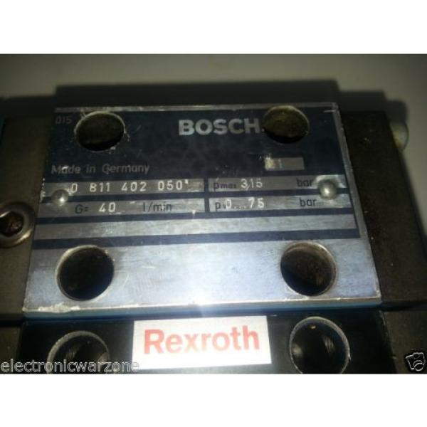 2 BOSCH REXROTH  DREB6X  PROPORTIONAL PRESSURE REDUCING VALVE PILOT OPERATED #4 image