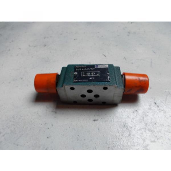 Rexroth Z2FS-6-2-43/1QV Hydraulic Dual Flow Control Valve D03 #1 image