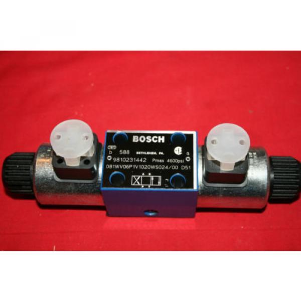 Origin Bosch Rexroth Hydraulic Flow Control Valve 9 810 231 442 9810231442 - BNWOB #1 image