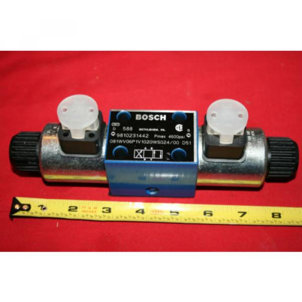 Origin Bosch Rexroth Hydraulic Flow Control Valve 9 810 231 442 9810231442 - BNWOB #4 image