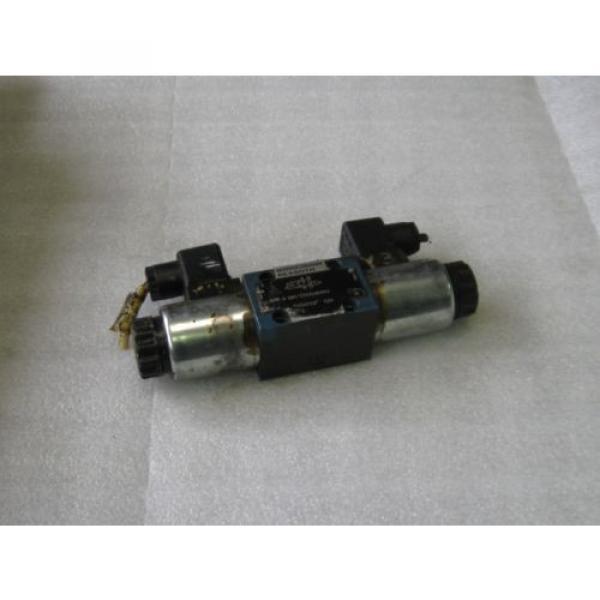 Mannesmann Rexroth Hydraulic Valve, 4E 6 D61/OFEG24N9K4, Used, Warranty #1 image