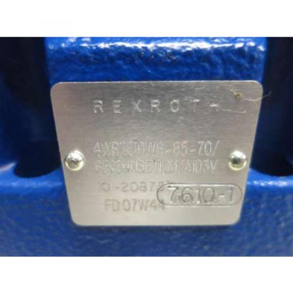 Origin REXROTH 4WRZE10W6-85-70/6E624N9ETK31/A1D3V HYDRAULIC SOLENOID VALVE D518078 #8 image