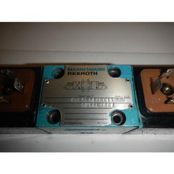Rexroth 4WE6B51/BW110RN Hydraulic Directional Valve #2 image