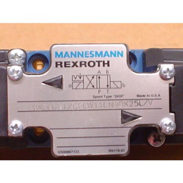 Mannesmann Rexroth 4WE6D61/OFEW110N9DK25L/V Hydraulic Directional Valve #2 image