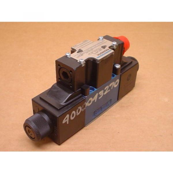 Mannesmann Rexroth 4WE6D61/OFEW110N9DK25L/V Hydraulic Directional Valve #4 image