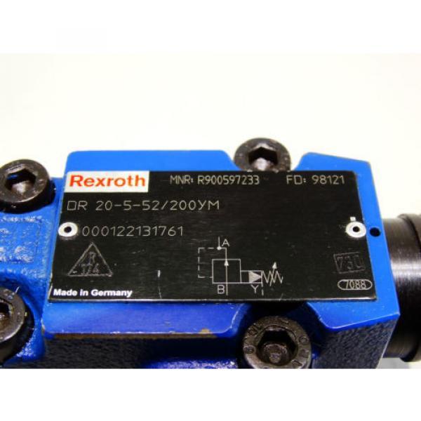 Rexroth Bosch valve ventil  DR 20-5-52/200YM  /  R900597233  /   Invoice #2 image