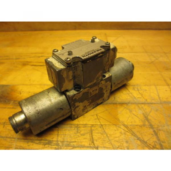 Rexroth 4WE6D60/0FDG24N9DK24L Hydraulic Directional Valve 24VDC Missing Coil Cap #3 image