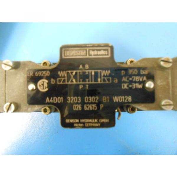 Denison Hydraulic Valve A4D01 3203 0302 B1 W0128 #3 image
