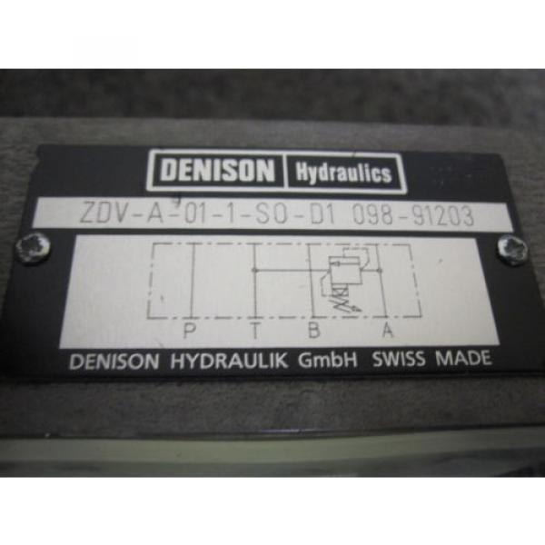 Origin DENISON FLOW CONTROL VALVE # ZDV-A-01-1-S0-D1-098-91203 #3 image