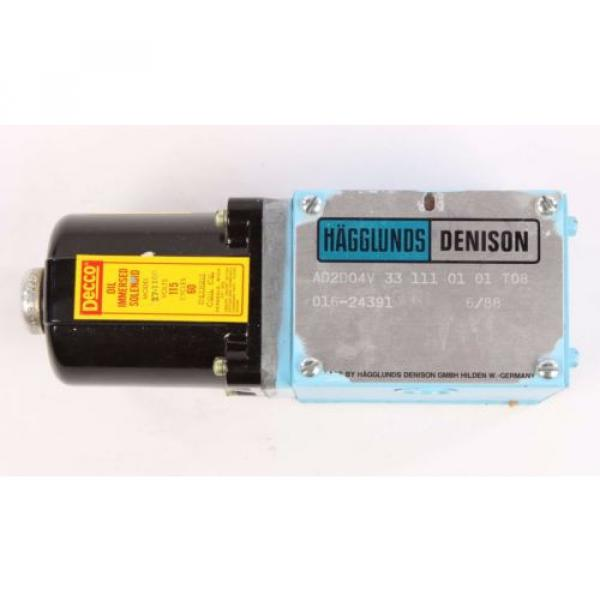 origin 016-24391 Denison Solenoid Valve Model AD2D04V331110101T08 #1 image