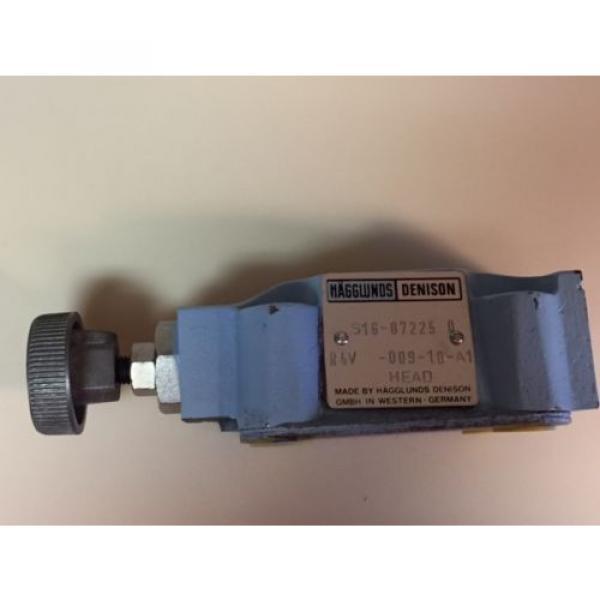 origin R4V 009 10 A1 Hagglunds Denison Hydraulic Valve S16 87225 0 Germany #1 image