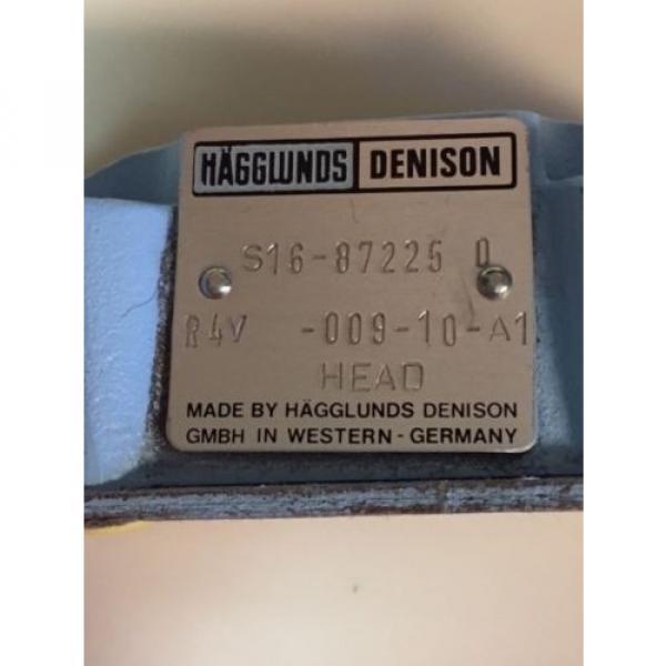 origin R4V 009 10 A1 Hagglunds Denison Hydraulic Valve S16 87225 0 Germany #3 image