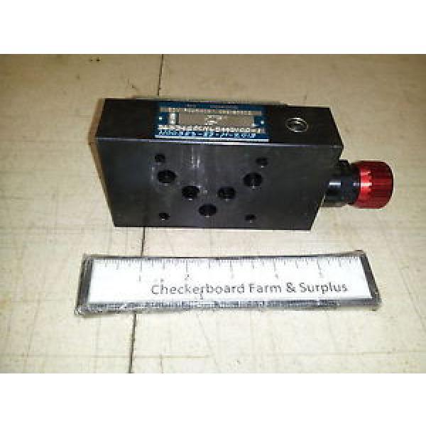 NOS Denison Hydraulic Pressure Relief Valve ZDV P025H0B1 098-90802 D6HT #1 image