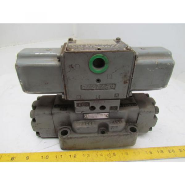 Denison D1D123320303031001 Directional Control Valve Hydraulic 115/60 Coils #3 image