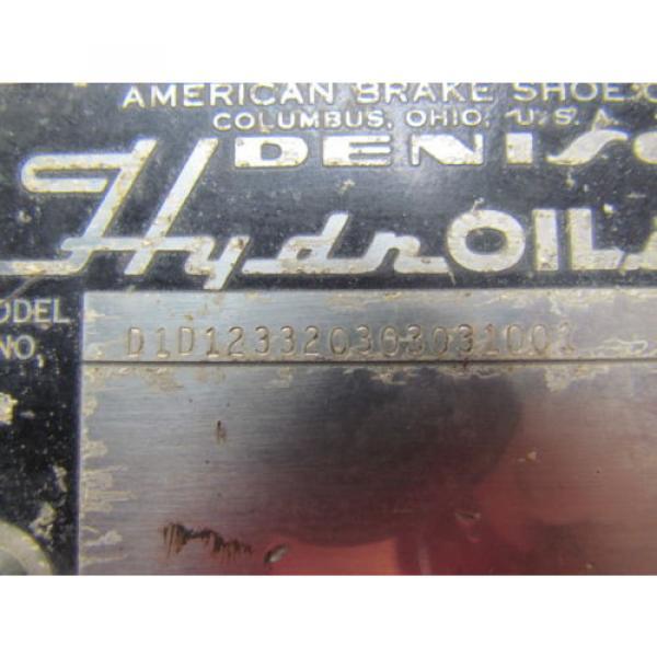 Denison D1D123320303031001 Directional Control Valve Hydraulic 115/60 Coils #7 image