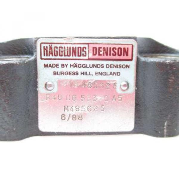 HAGGLUNDS DENISON R4U 06 533 10 A5 PRESSURE CONTROL HYDRAULIC VALVE D515204 #2 image