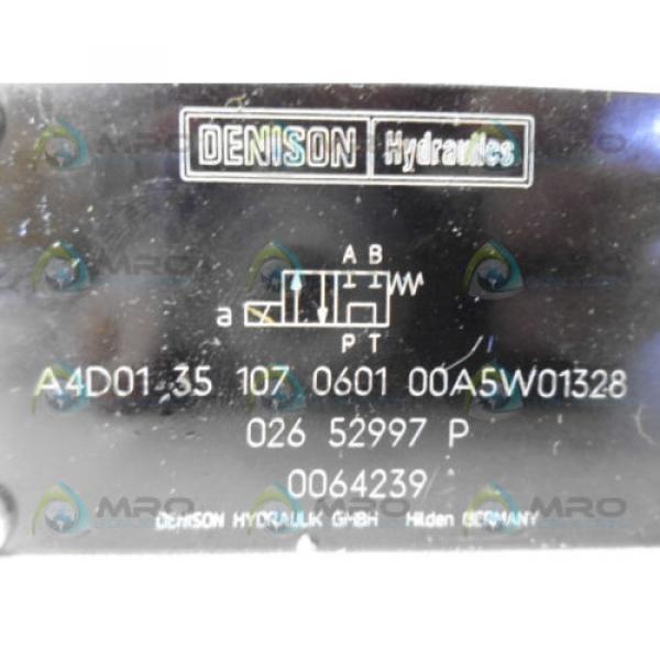 DENISON A4D0135107060100A5W01328 PILOT CONTROL VALVE Origin NO BOX #6 image