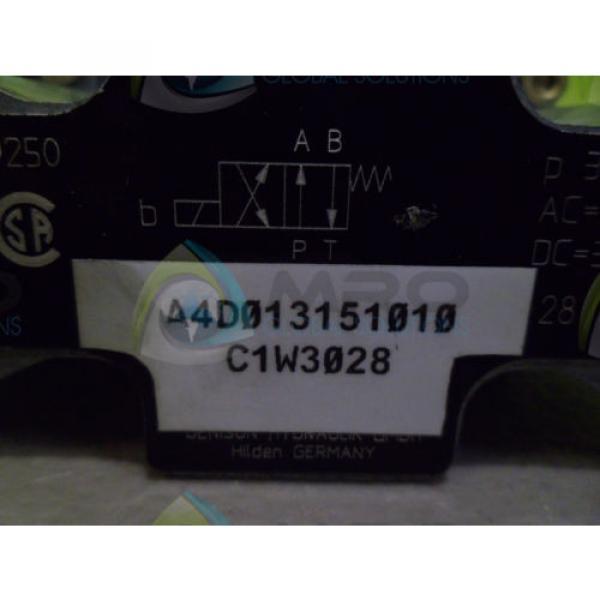 DENISON A4D013151010 HYDRAULIC VALVE Origin NO BOX #1 image