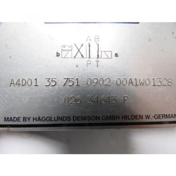 Hagglunds Denison A4D01 35 751 0902 00A1W01328 Directional Control Valve #8 image