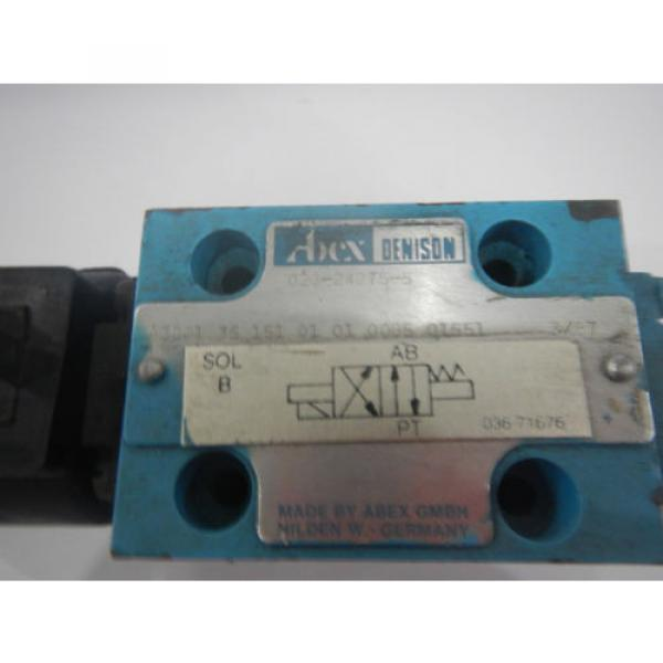 Denison D03 A3001 35 151 01 01 00B5 01551 Hydraulic Directional Control Valve #2 image