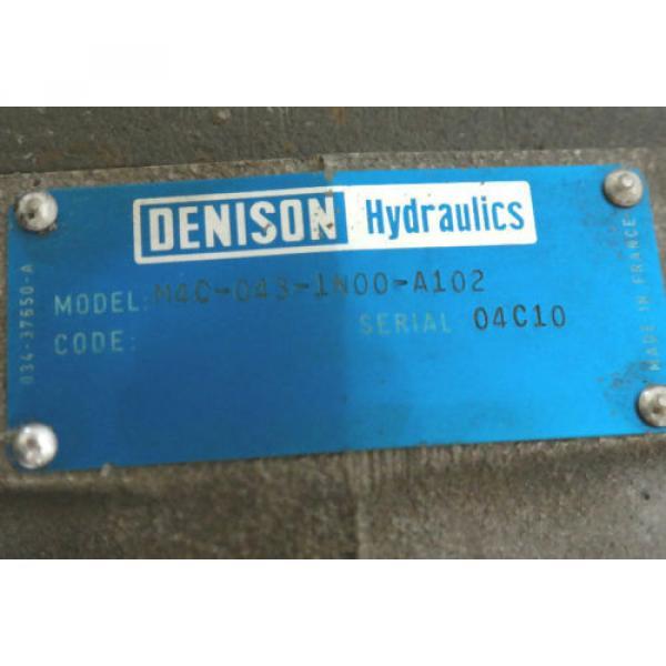 DENISON HYDRAULICS M4C-043-1N00-A102 M4 HYDRAULIC VANE MOTOR M4C0431N00A102 #4 image