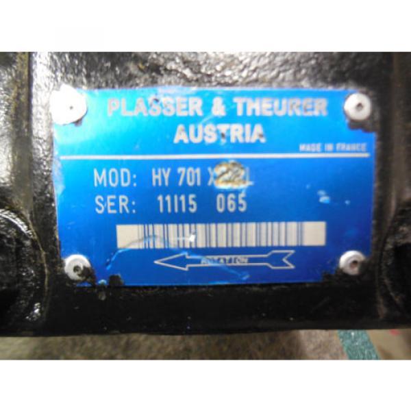 Origin PARKER DENISON HYDRAULIC VANE PUMP # HY701X22L PLASSER amp; THEURER #4 image