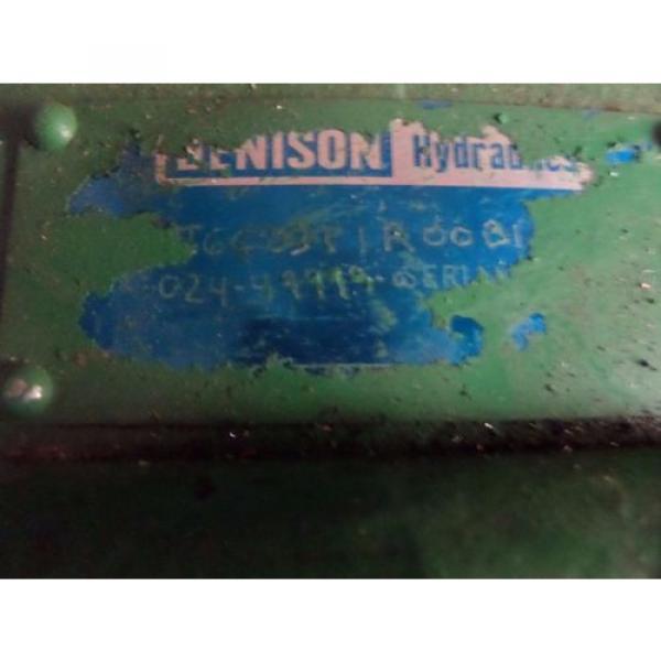 Denison Hydraulics Pump T6C 031 1R 00B1 ? 0081 #2 image