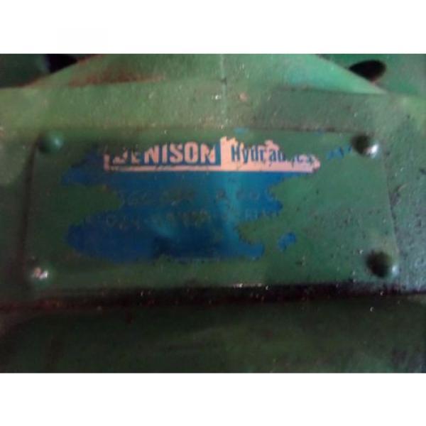 Denison Hydraulics Pump T6C 031 1R 00B1 ? 0081 #12 image
