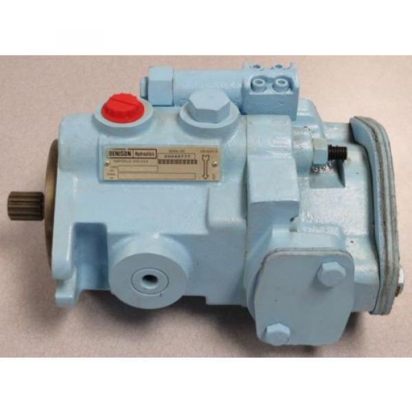 DENISON HYDRAULICS Variable Displacement Piston Pump M/N: PVT101R1D #1 image