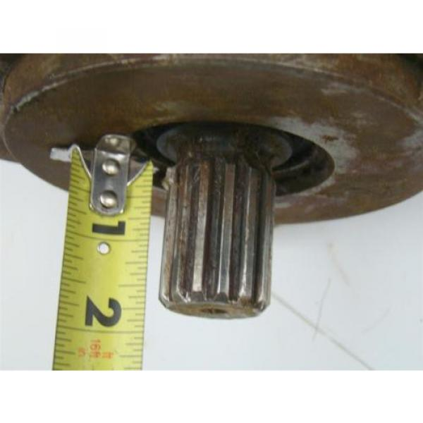DENISON HYDRAULIC PUMP  1 1/2#034; SHAFT MODEL T6DR 050 3L02 B20 A1 #6 image