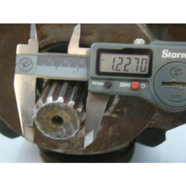 DENISON HYDRAULIC PUMP  1 1/2#034; SHAFT MODEL T6DR 050 3L02 B20 A1 #7 image