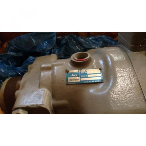 Hydraulic Pump, Abex Denison, P1V07-02731R-4, Rebuilt #3 image