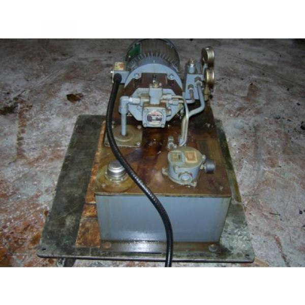 3 HP Hydraulic System with NACHI Variable Vane Pump 4 GPM/1000 PSI #3 image