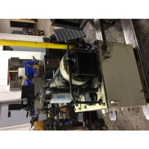 Nachi 3 HP Hydraulic Unit, Nachi Vane Pump # VDR-1B-1A3-U-1146K, OFF OKUMA LATHE #10 image