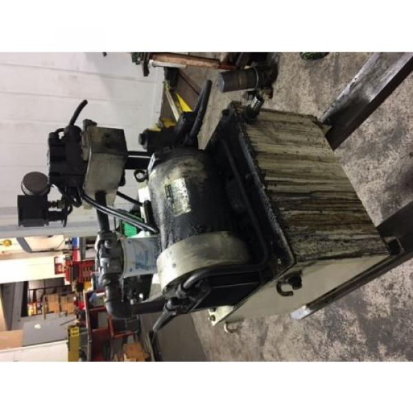 Nachi 3 HP Hydraulic Unit, Nachi Vane Pump # VDR-1B-1A3-U-1146K, OFF OKUMA LATHE #11 image