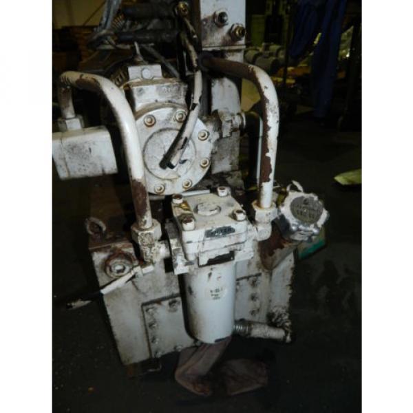 Showa / Nachi 3 HP Hydraulic Unit, PVU-40-0403-HX196 w/ UVD-2A-A2-22-4-1697A #7 image