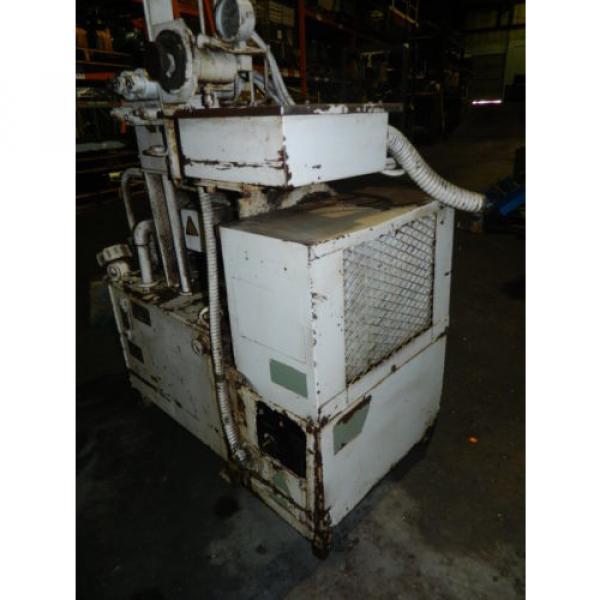 Showa / Nachi 3 HP Hydraulic Unit, PVU-40-0403-HX196 w/ UVD-2A-A2-22-4-1697A #8 image