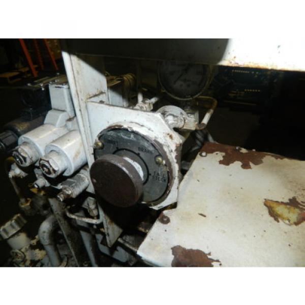 Showa / Nachi 3 HP Hydraulic Unit, PVU-40-0403-HX196 w/ UVD-2A-A2-22-4-1697A #9 image